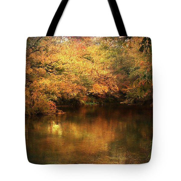 Hint Of September Tote Bag by Jai Johnson