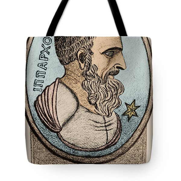 Hipparchus, Greek Astronomer Tote Bag by Photo Researchers, Inc.