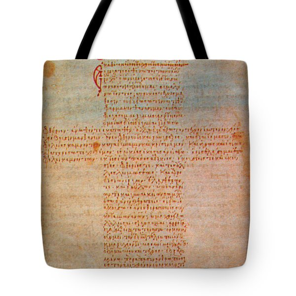 Hippocratic Oath Tote Bag by Science Source