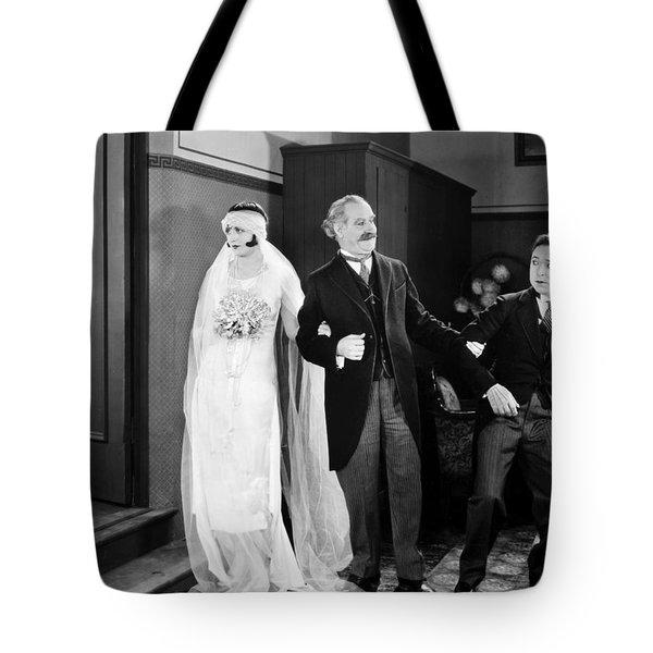 His Marriage Wow, 1925 Tote Bag by Granger