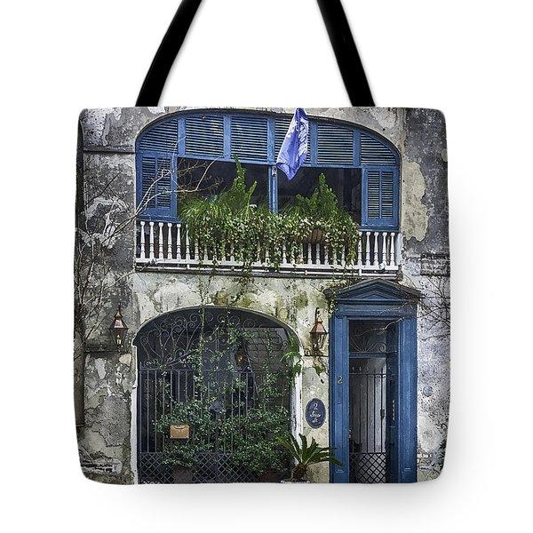 Historic Charleston Home Tote Bag by Lynn Palmer