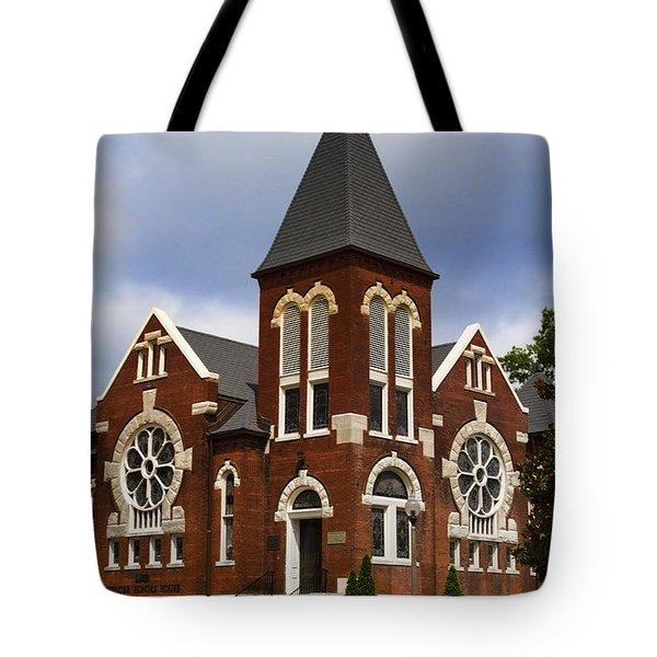 Historical 1901 Uab Spencer Honors House - Birmingham Alabama Tote Bag by Kathy Clark