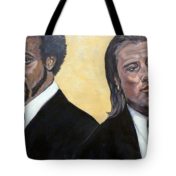 Hit Men Tote Bag