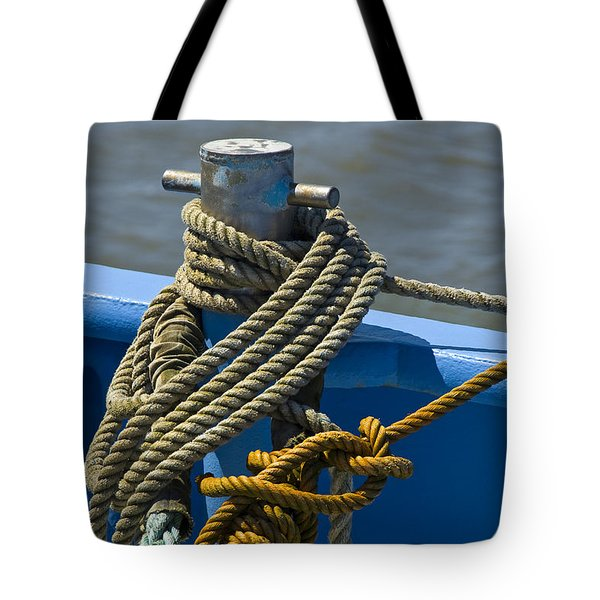 Hitched Tote Bag by Trevor Chriss