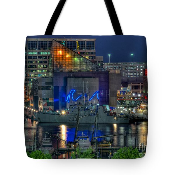 Hmcs Goose Bay Tote Bag