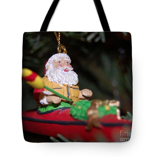 Ho Ho Ho Tote Bag by Debbi Granruth