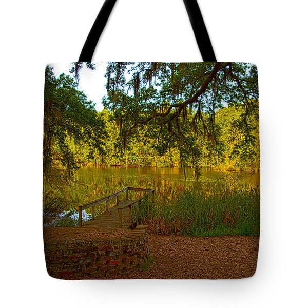 Hobcaw Barony Pond Tote Bag