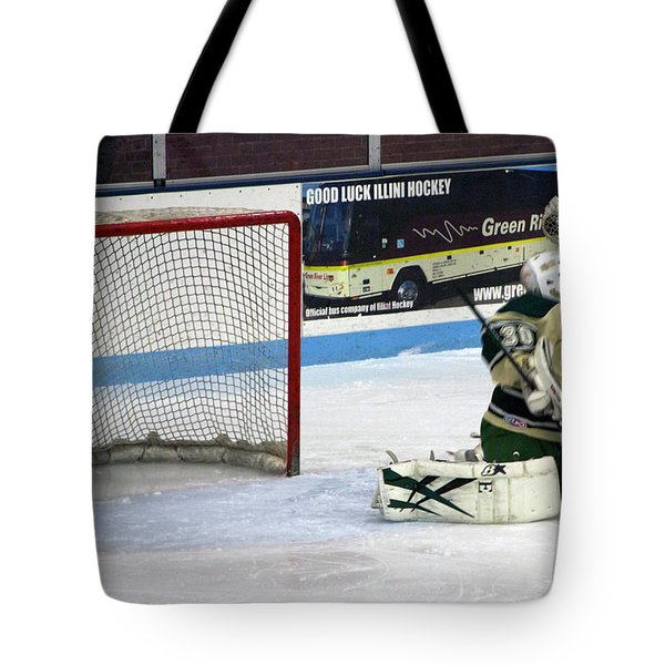 Hockey Nice Catch Tote Bag by Thomas Woolworth