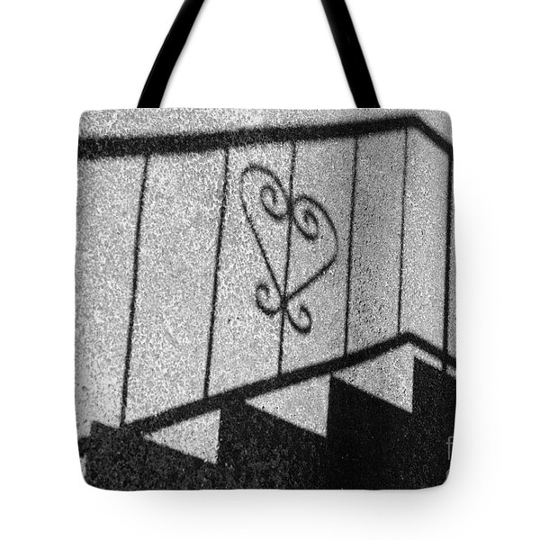 Hold My Hand Tote Bag by Luke Moore