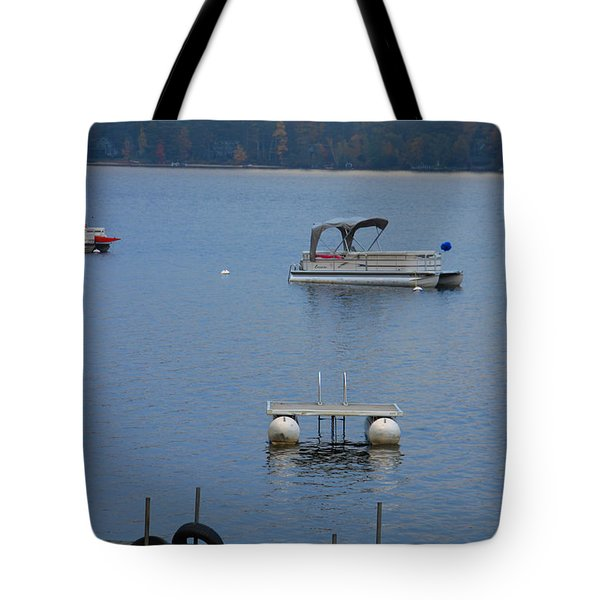 Holding On To Summer Tote Bag by Michael Mooney