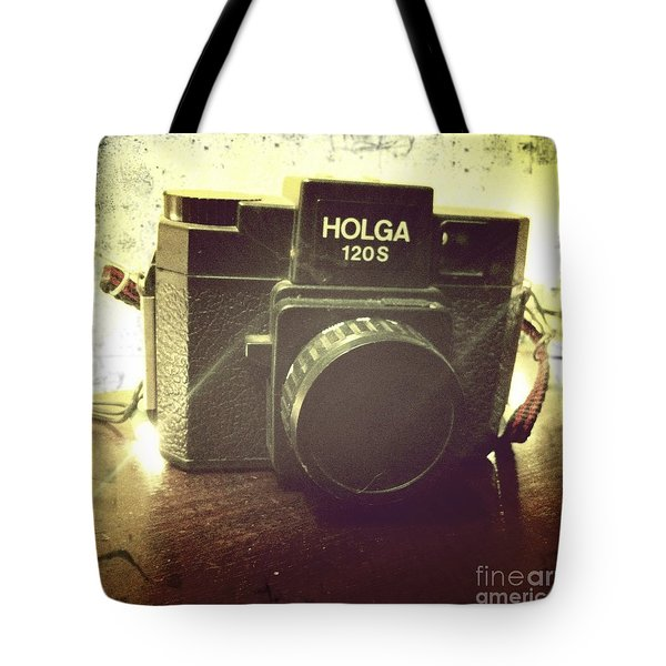 Holga Tote Bag by Nina Prommer