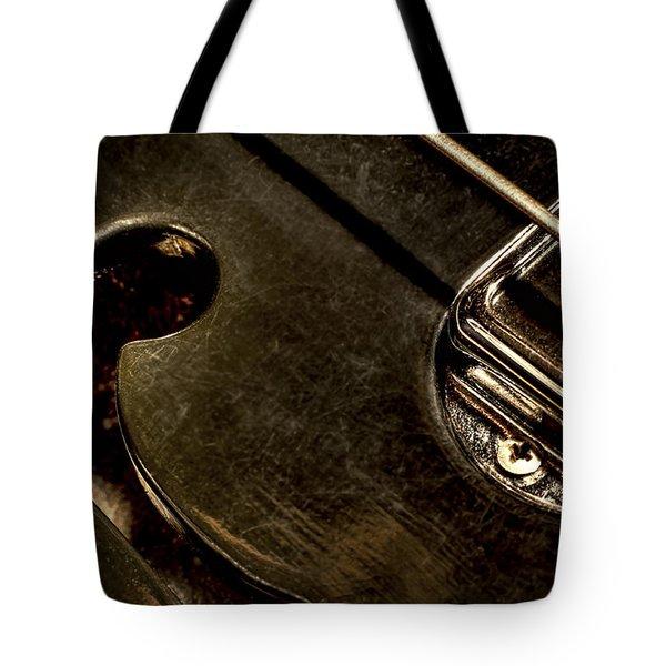Hollow Body Tote Bag