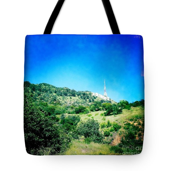 Tote Bag featuring the photograph Hollywood by Nina Prommer