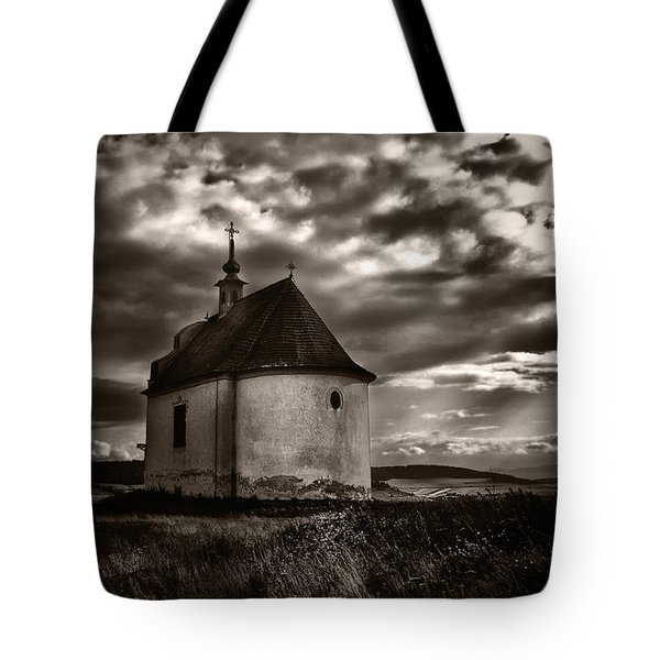 Holy Cross Chapel Tote Bag by Tom Bell