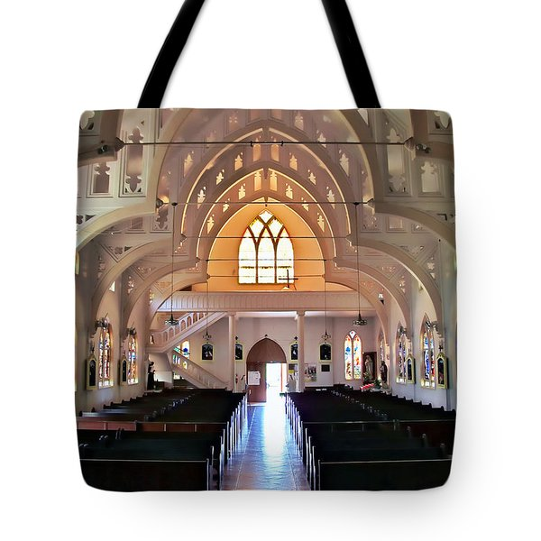 Holy Rosary 2 Tote Bag by Dawn Eshelman