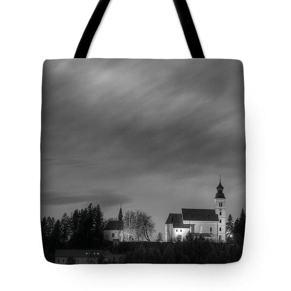 Holy Spirit Church Tote Bag