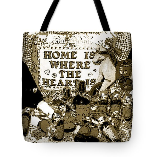 Tote Bag featuring the photograph Home Americana Style by Pamela Hyde Wilson