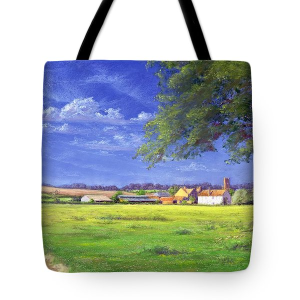 Home Field Tote Bag by Anthony Rule