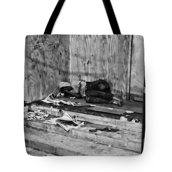 Homeless Tote Bag by Paul Ward