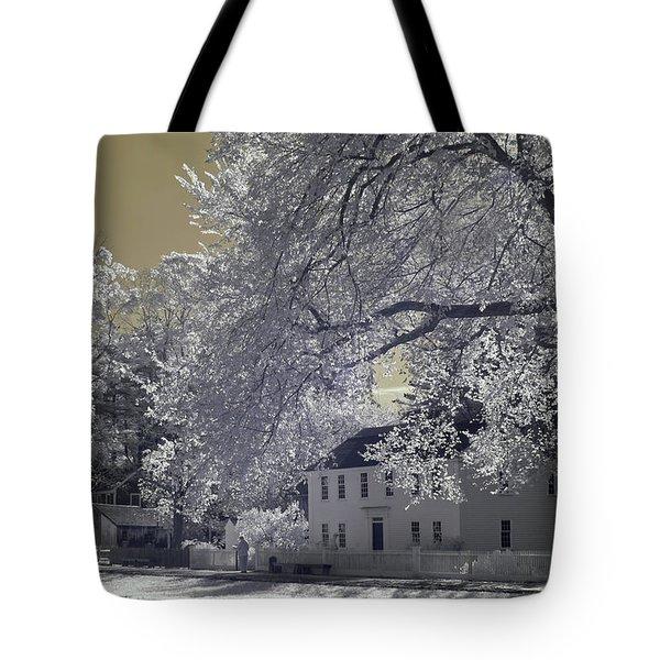 Homestead Tote Bag by Joann Vitali