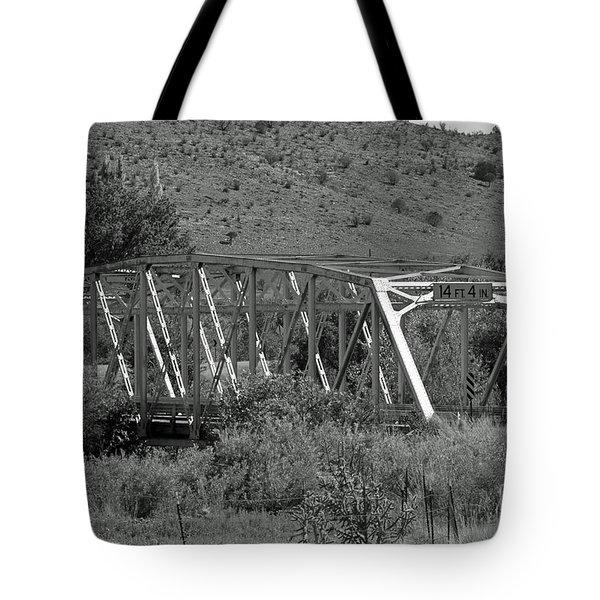 Hondo Iron Tote Bag by Shawn Naranjo