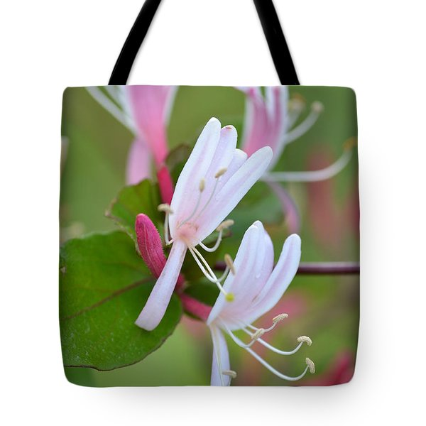 Tote Bag featuring the photograph Honeysuckle by JD Grimes