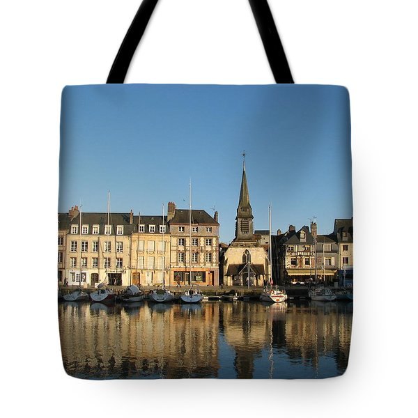 Honfleur  Tote Bag by Carla Parris