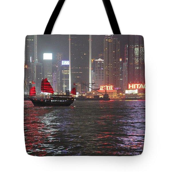 Tote Bag featuring the photograph Hong Hong by Milena Boeva