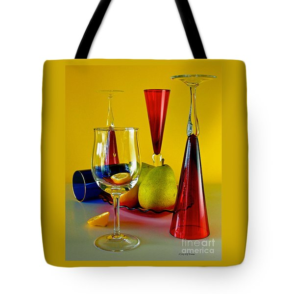Tote Bag featuring the photograph Honor To  Mondrian  by Elf Evans