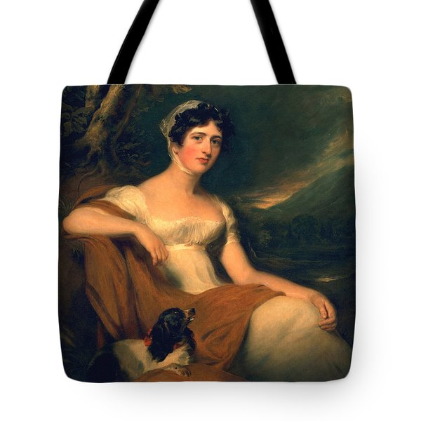 Honorable Emma Cunliffe Later Emma Cunliffe-offley Tote Bag by Thomas Lawrence