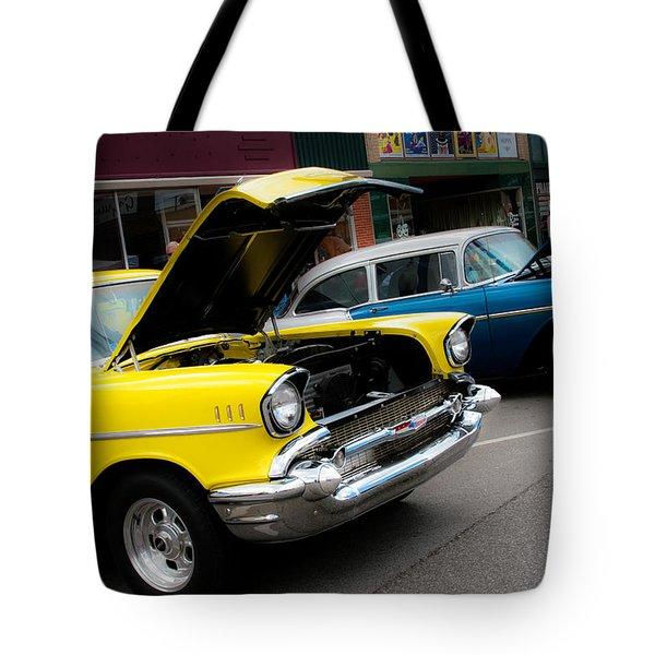 Hoods Up Tote Bag by Toni Hopper