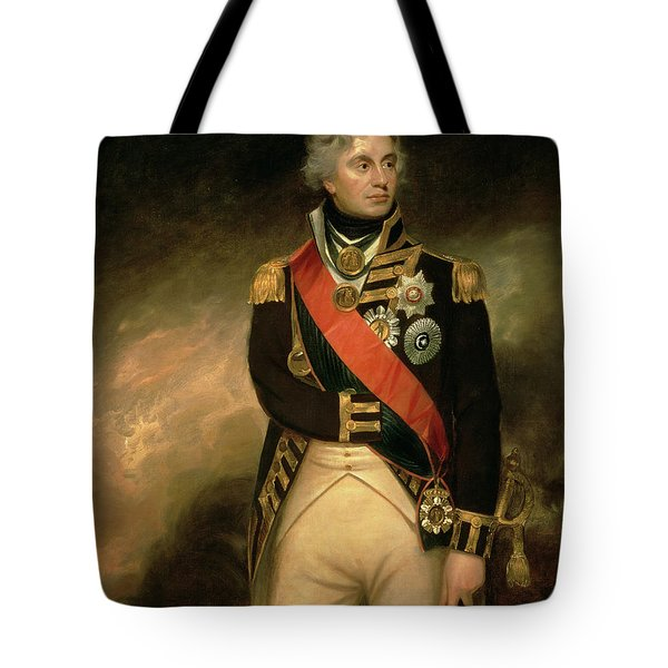 Horatio Viscount Nelson Tote Bag