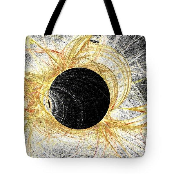 Tote Bag featuring the digital art Horizon by Kim Sy Ok