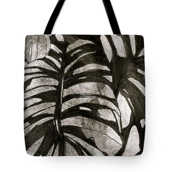 Hostas Version II Tote Bag by Claudia Smaletz