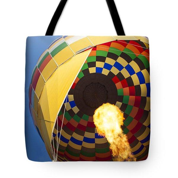 Hot Air Tote Bag by Rick Berk