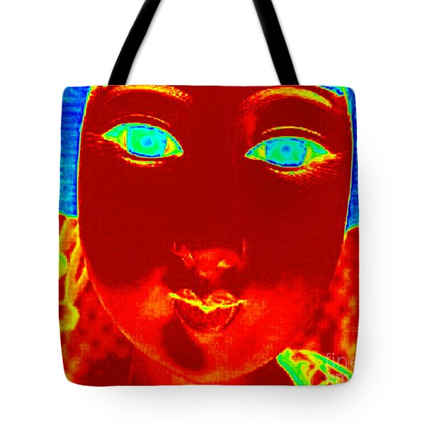 Tote Bag featuring the photograph Hot Asian Lady by Renee Trenholm