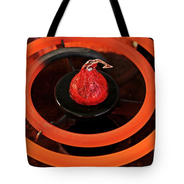 Hot Chocolate Tote Bag by Luke Moore