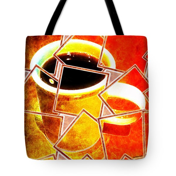 Hot Coffee 01 Tote Bag