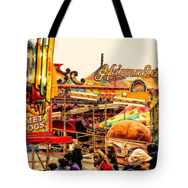 Hot Dogs Tote Bag by Jim Moore