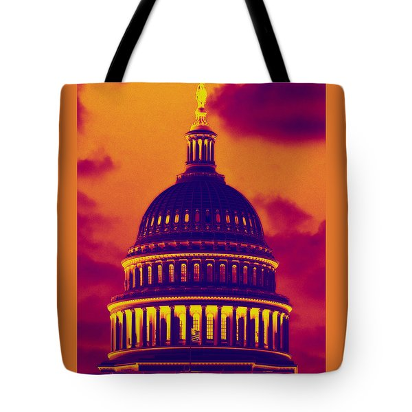 Tote Bag featuring the photograph Hot Dome by Jim Moore