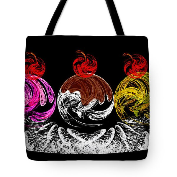 Hot Fudge Ice Cream Boat Tote Bag by Andee Design