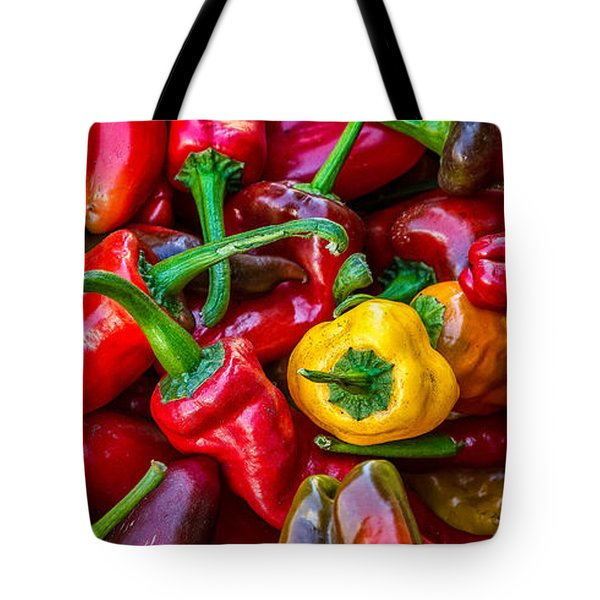 Hot Pepper Time Tote Bag by Ken Stanback
