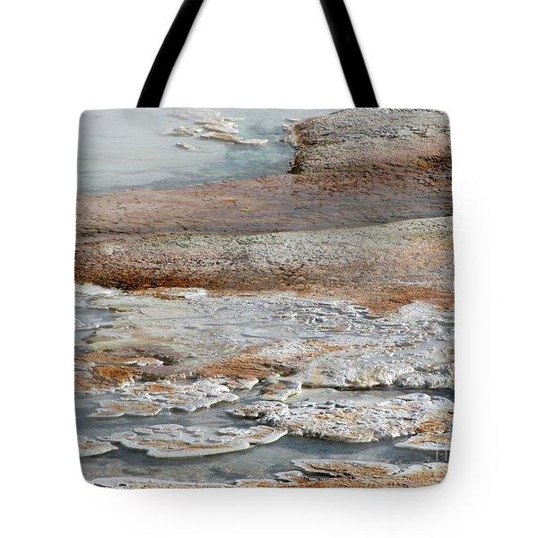 Hot Springs Abstract Two Tote Bag by Sabrina L Ryan