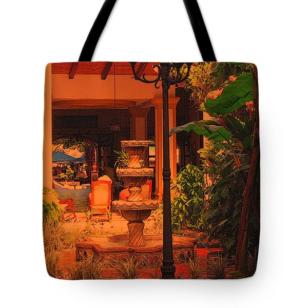 Tote Bag featuring the photograph Hotel Alhambra by Lydia Holly
