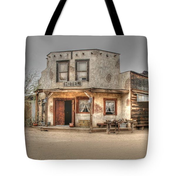 Hotel Arizona Tote Bag