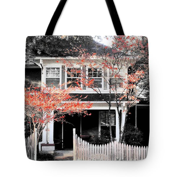 House In Cooper Young Tote Bag