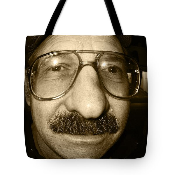 How Do Eye Look Tote Bag by Kym Backland