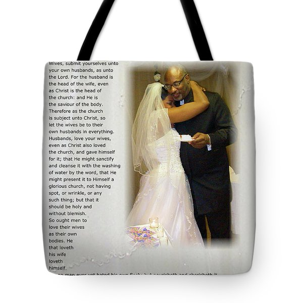 How Much Do I Love Thee Tote Bag by Terry Wallace