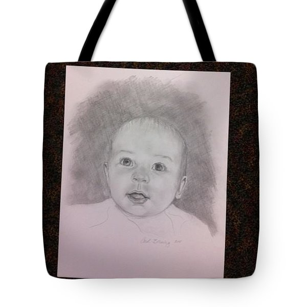 Tote Bag featuring the painting Hudson by Carol Berning