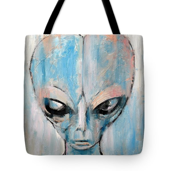 Human I Am Human Let Me Remain Tote Bag by Fabrizio Cassetta